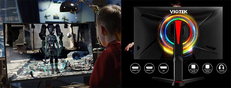 VIOTEK GFV27DAB 27-Inch Gaming Monitor