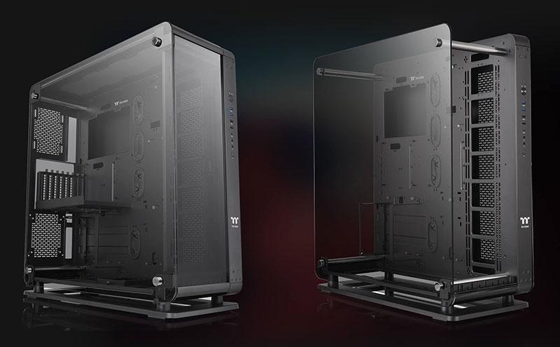 Thermaltake Core P8 case panel options
